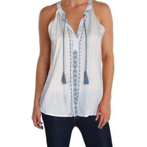 Soft Joie Tops - Joie Tie Dye Carafina Embroidered Top, Medium